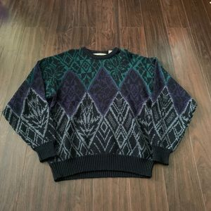 Vintage Gitano Pullover Sweater Size Large